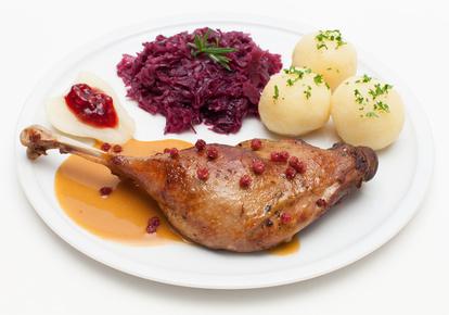 Gansessen im Restaurant zum Taunus Eppstein 2015