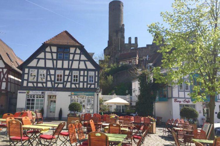 Hotel Restaurant zum Taunus Eppstein | Biergarten Terrasse